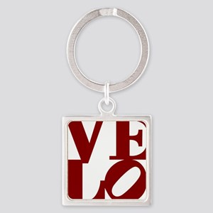 4velo_red Square Keychain
