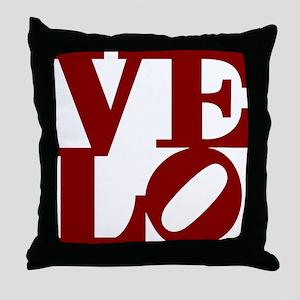 4velo_red Throw Pillow