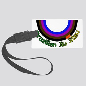 Bjj Loop - Colors of Progression Large Luggage Tag
