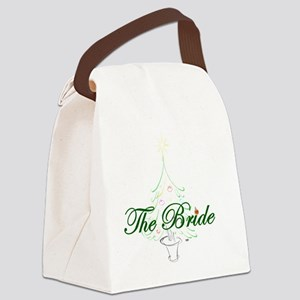 The Christmas Bride Canvas Lunch Bag