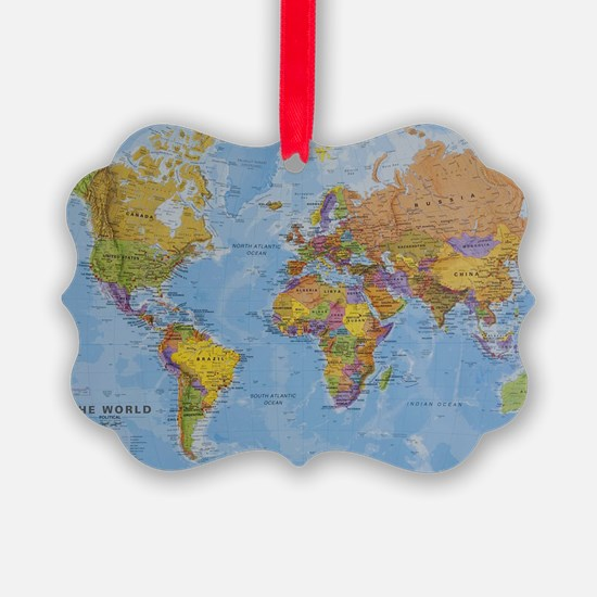 world Ornament