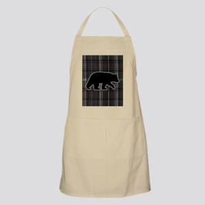 bearplaidpillowdrk Apron