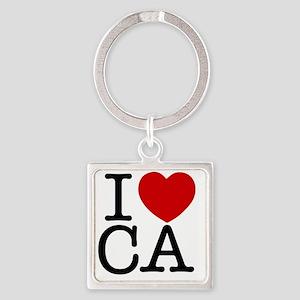 california Square Keychain