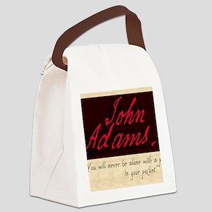 JOHNADAMS Canvas Lunch Bag