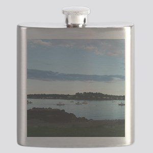 Boston Harbor Flask
