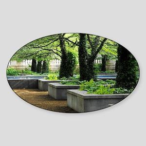 art institute Sticker (Oval)