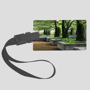 art institute Large Luggage Tag