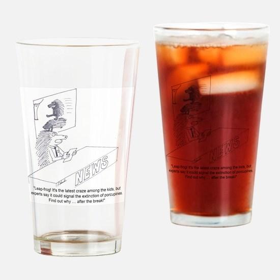 porcupine II Drinking Glass