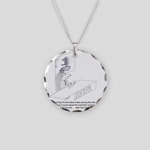 porcupine II Necklace Circle Charm