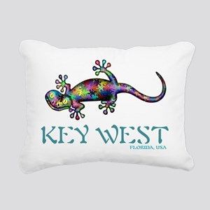 Key West Gekco Rectangular Canvas Pillow