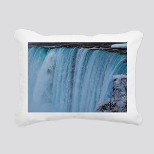 Falls Rectangular Canvas Pillow