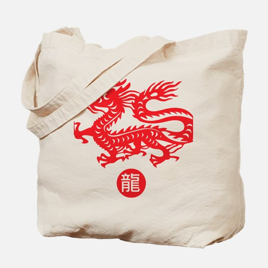 Red_dragon_1 Tote Bag