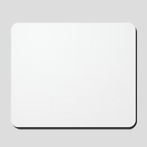 reel to reel white Mousepad