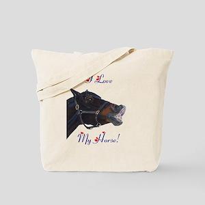 buster_horse_trans_big Tote Bag
