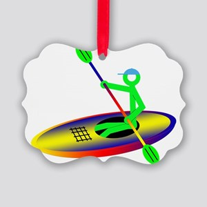Kayak5 Picture Ornament