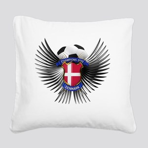 soc_wing_denmark Square Canvas Pillow