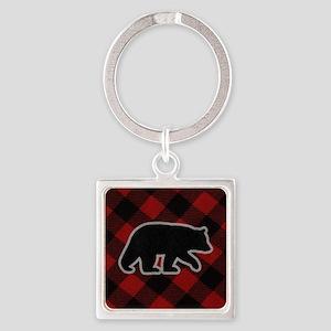 bearwallet Square Keychain