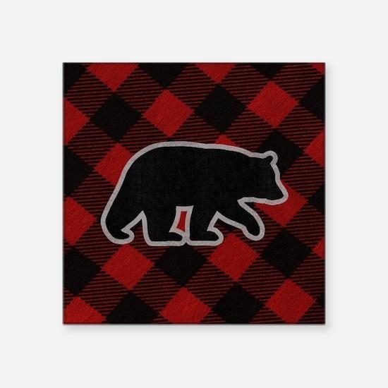 "bearwallet Square Sticker 3"" x 3"""