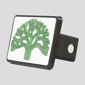Oakland Tree Green Rectangular Hitch Cover