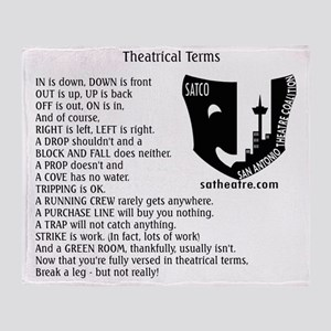 terms Throw Blanket