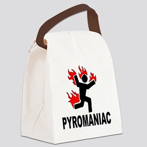 pyroman Canvas Lunch Bag