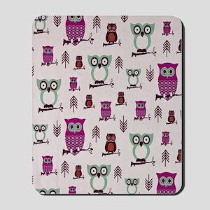 Hooty Owl copy Mousepad