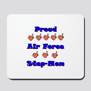 Air Force Step-Mom Mousepad