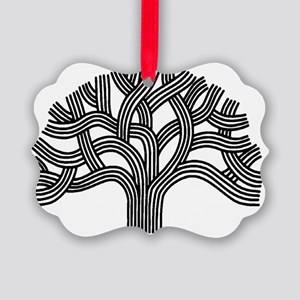 Oakland Tree Picture Ornament