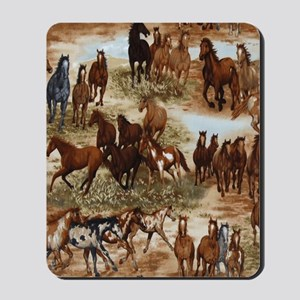 Horses Sable Mousepad