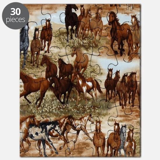Horses Sable Puzzle