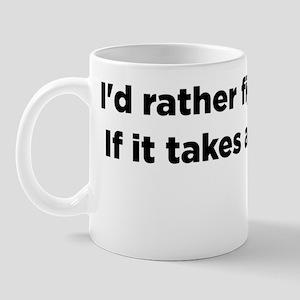 Christopher Hitchens Hitchslap 07 back  Mug