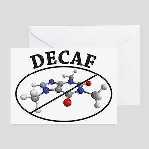 decaf Greeting Card