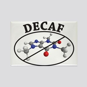 decaf Rectangle Magnet