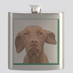 Cricket Square Green Flask