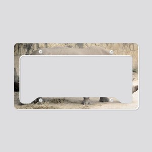 Rhino License Plate Holder