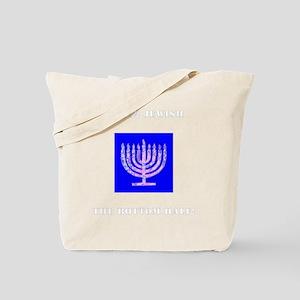 Im Half Jewish the Bottom 1/2 Tote Bag