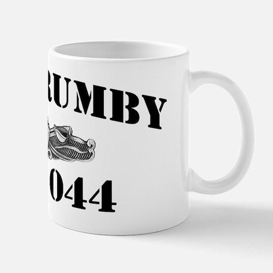brumby de black letters Mug