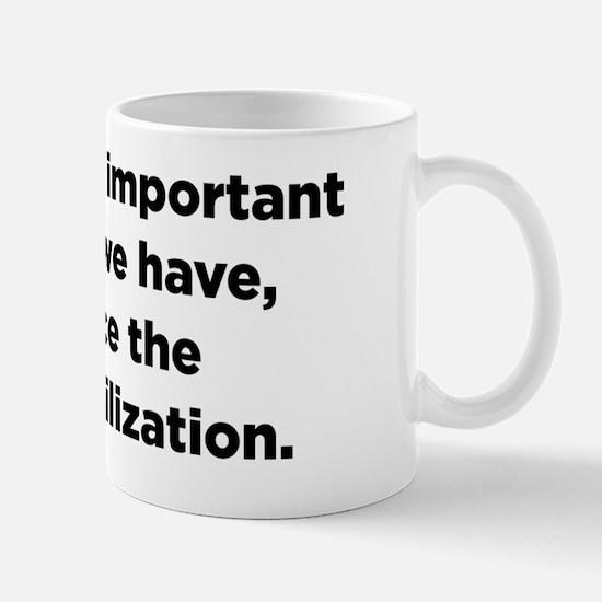 Christopher Hitchens Hitchslap 09 front Mug