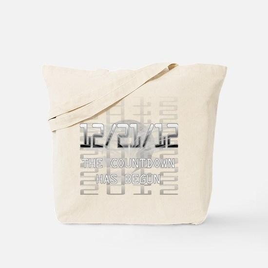 transparent-on-black Tote Bag