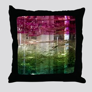 Elbaite-Melon-iPad 2-Case Throw Pillow