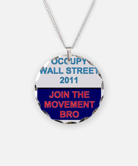 Join-the-movement-bro Necklace