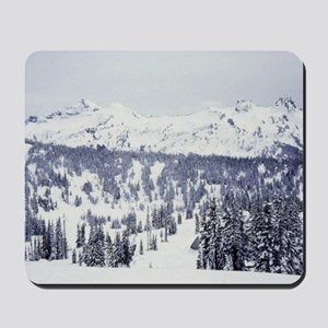 View from Mt Rainier Mousepad