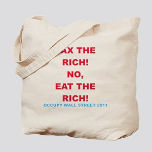 tax-eat-the-rich Tote Bag