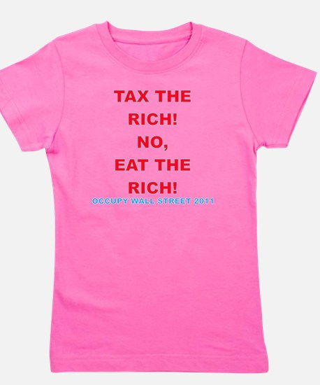 tax-eat-the-rich Girl's Tee