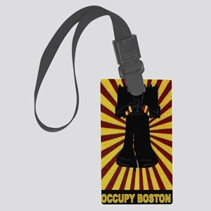 Occupy-Boston-iPhone 3 Large Luggage Tag