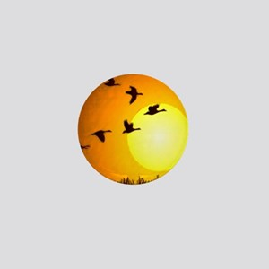 Geese Mini Button