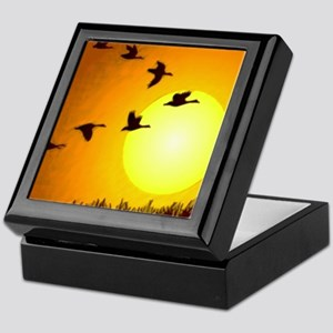 Geese Keepsake Box