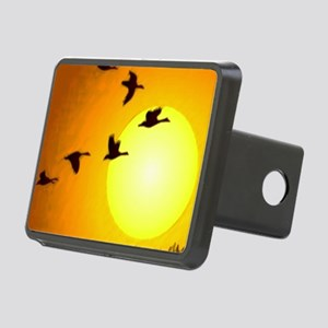 Geese Rectangular Hitch Cover