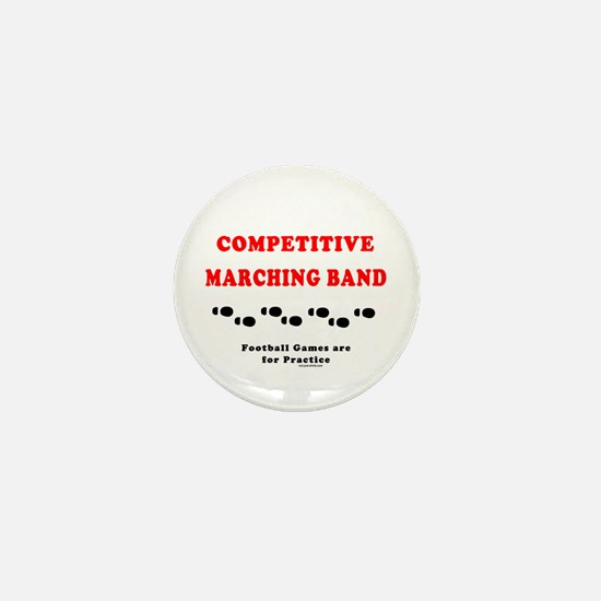 Competitive Band Footprints Mini Button