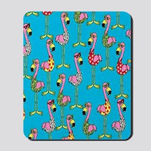 sharp-flamingos- Mousepad